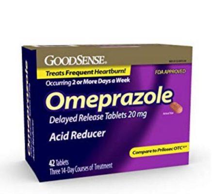 أقراص اوميبرازول 20 مجم