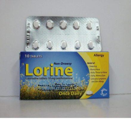 دواء لورين