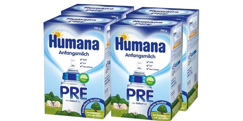 حليب هيومانا Humana