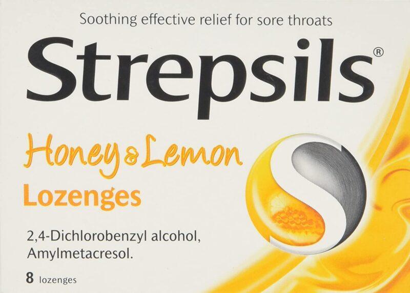 ستربسلز بالعسل والليمون Strepsils