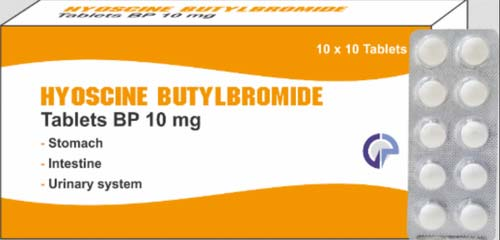 موانع استخدام دواء هيوسين بوتيل برومايد Hyoscine Butylbromide
